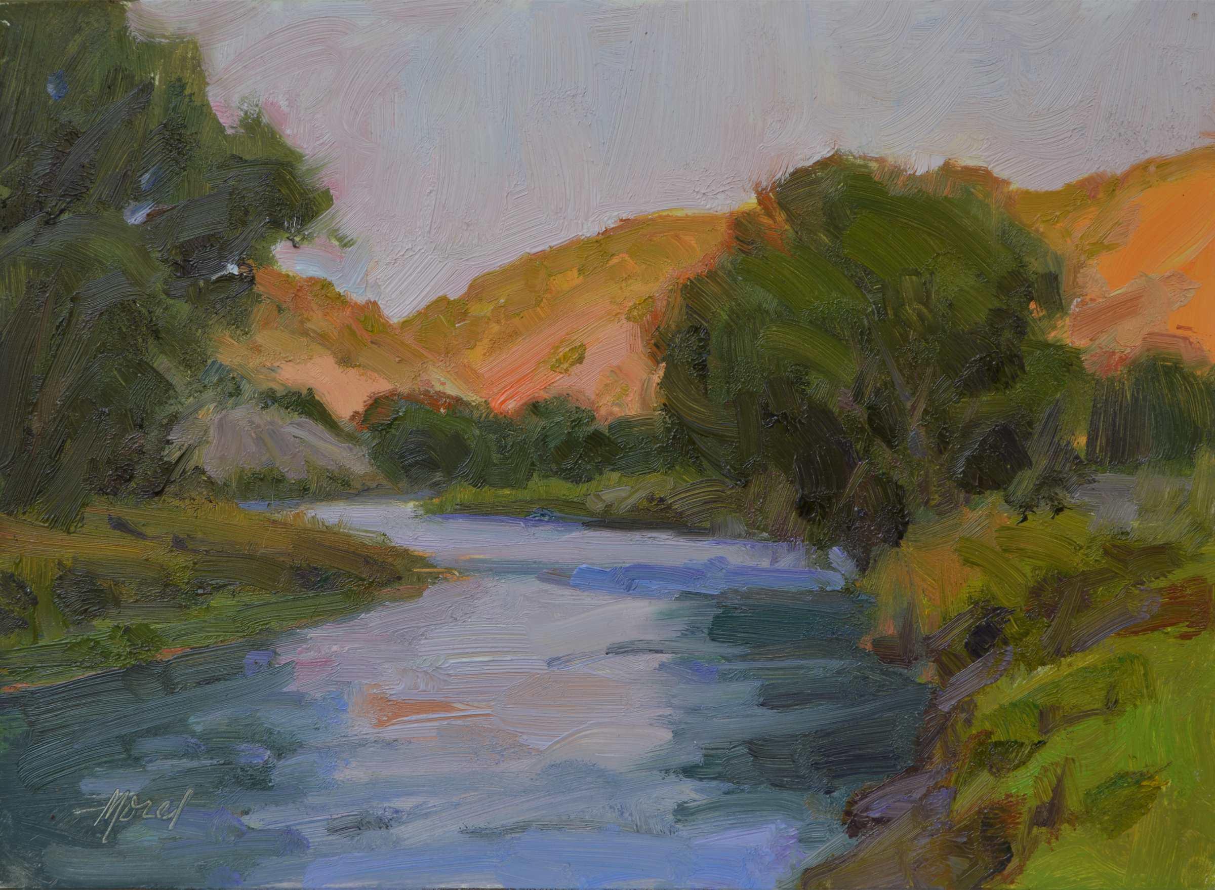Rio Grande Evening