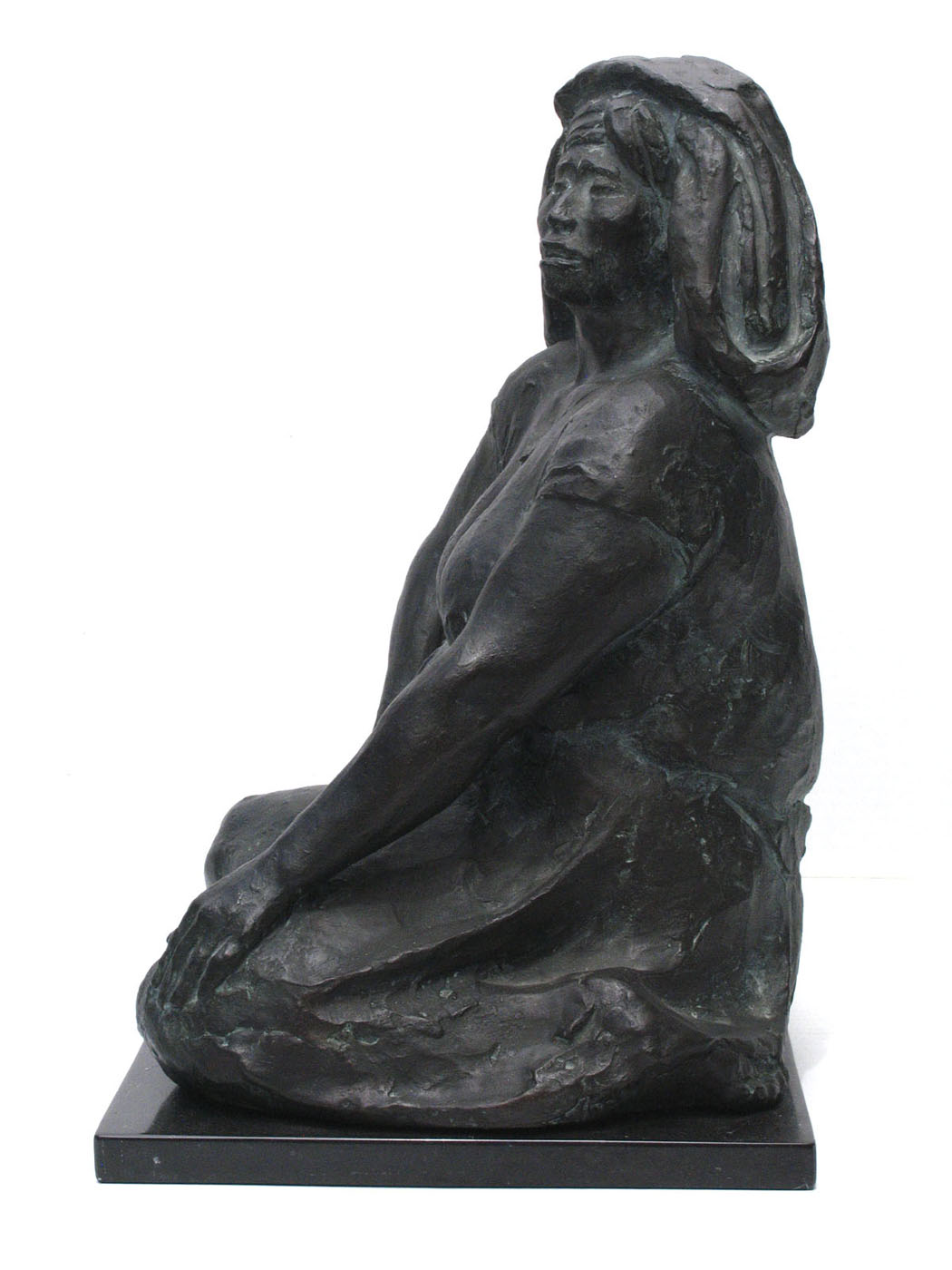 "Francisco Zúñiga,  La Calera , bronze, 18"" x 12"" x 14"", edition of 8"