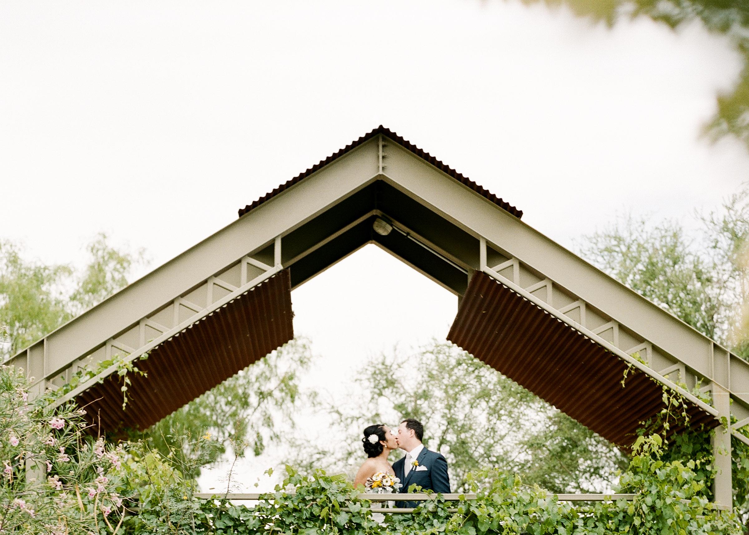 Springs-Preserve- Wedding-Bride-and-Groom-Kiss-1.jpg