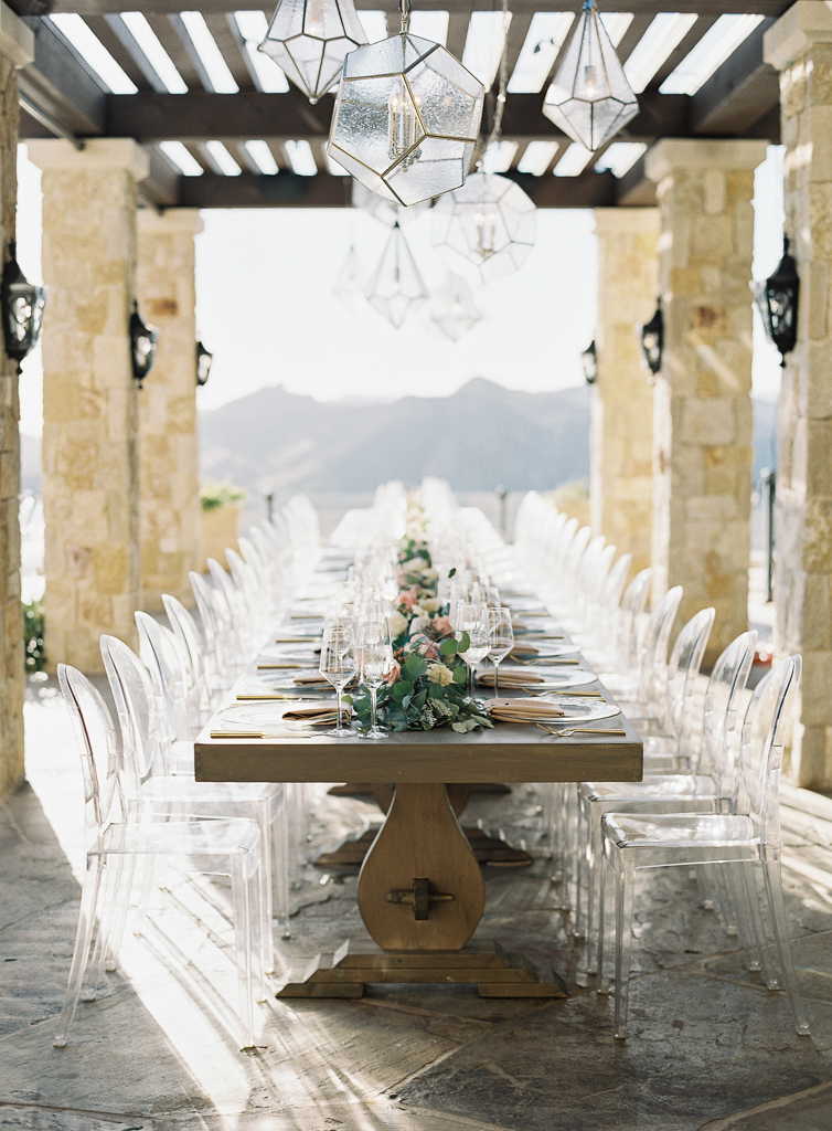 Malibu Rocky Oaks Luxury Wedding Table