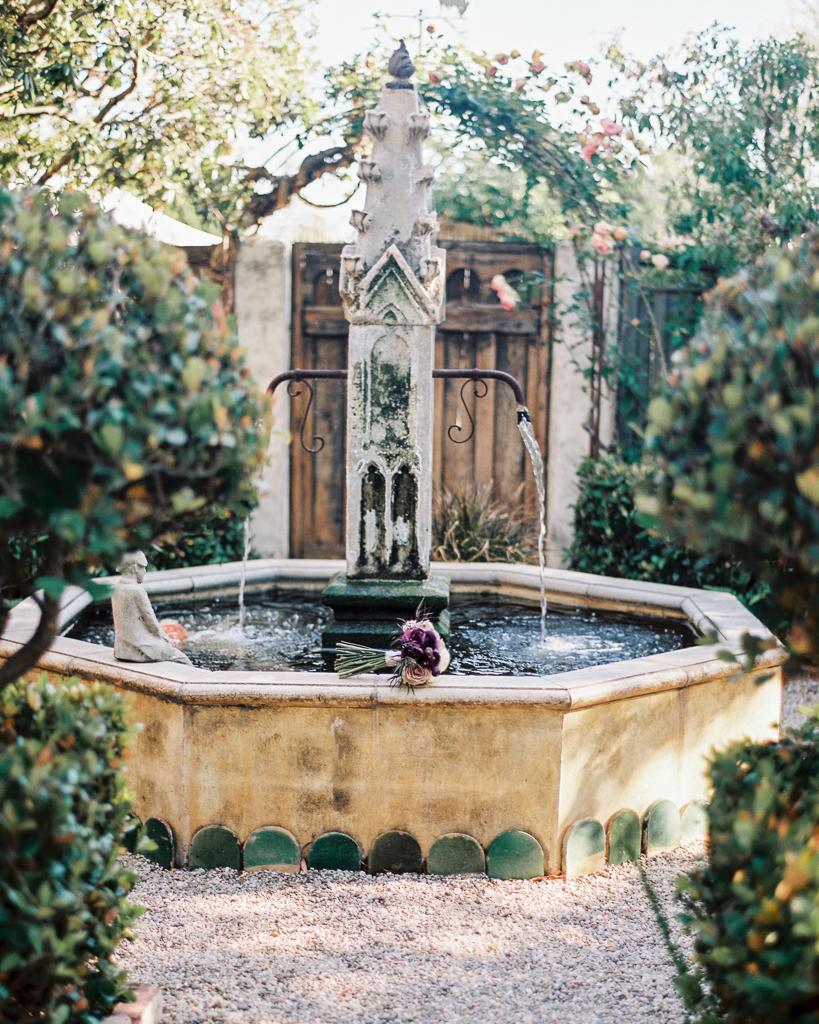 Fountain Garden Wedding Ideas