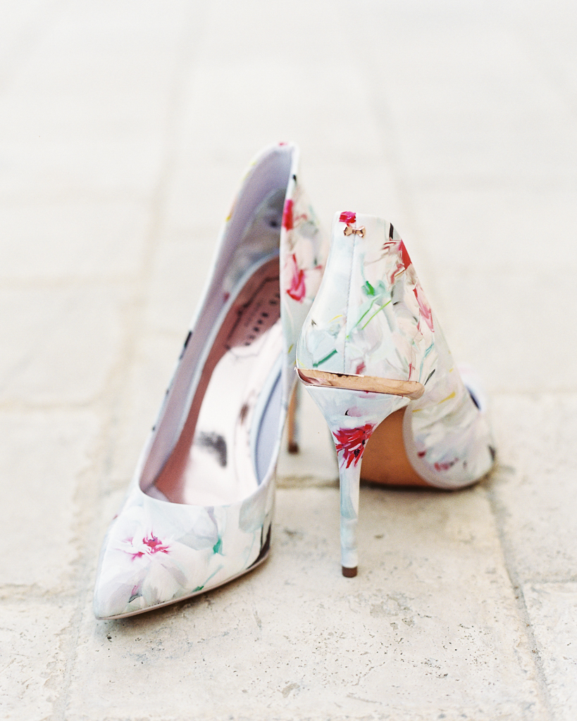 Ted Baker Floral Wedding Shoes Ideas