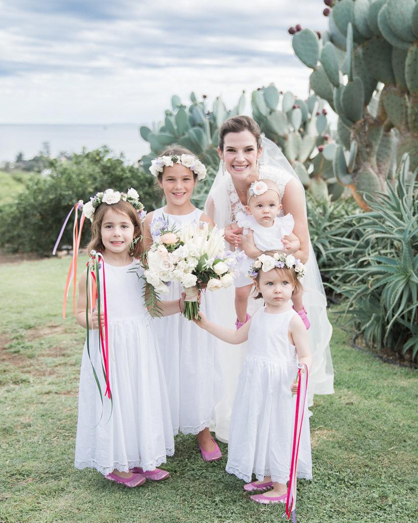 Santa-Barbara-Montecito-Luxe-Wedding-Bride-with-Flower-Girls.jpg