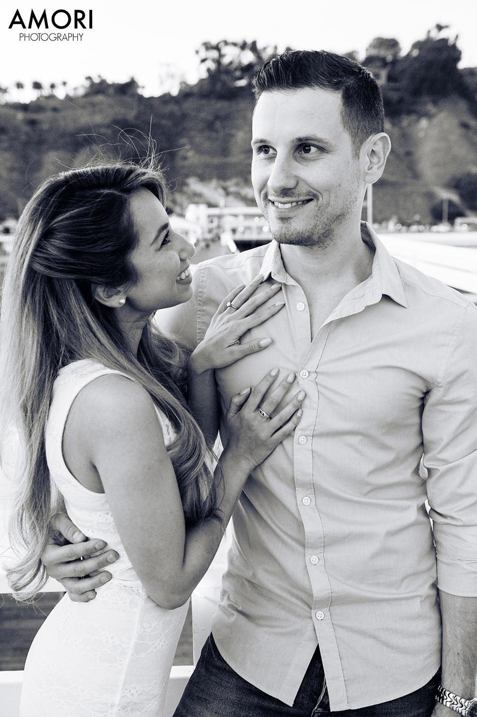 Engagement at the Malibu Pier
