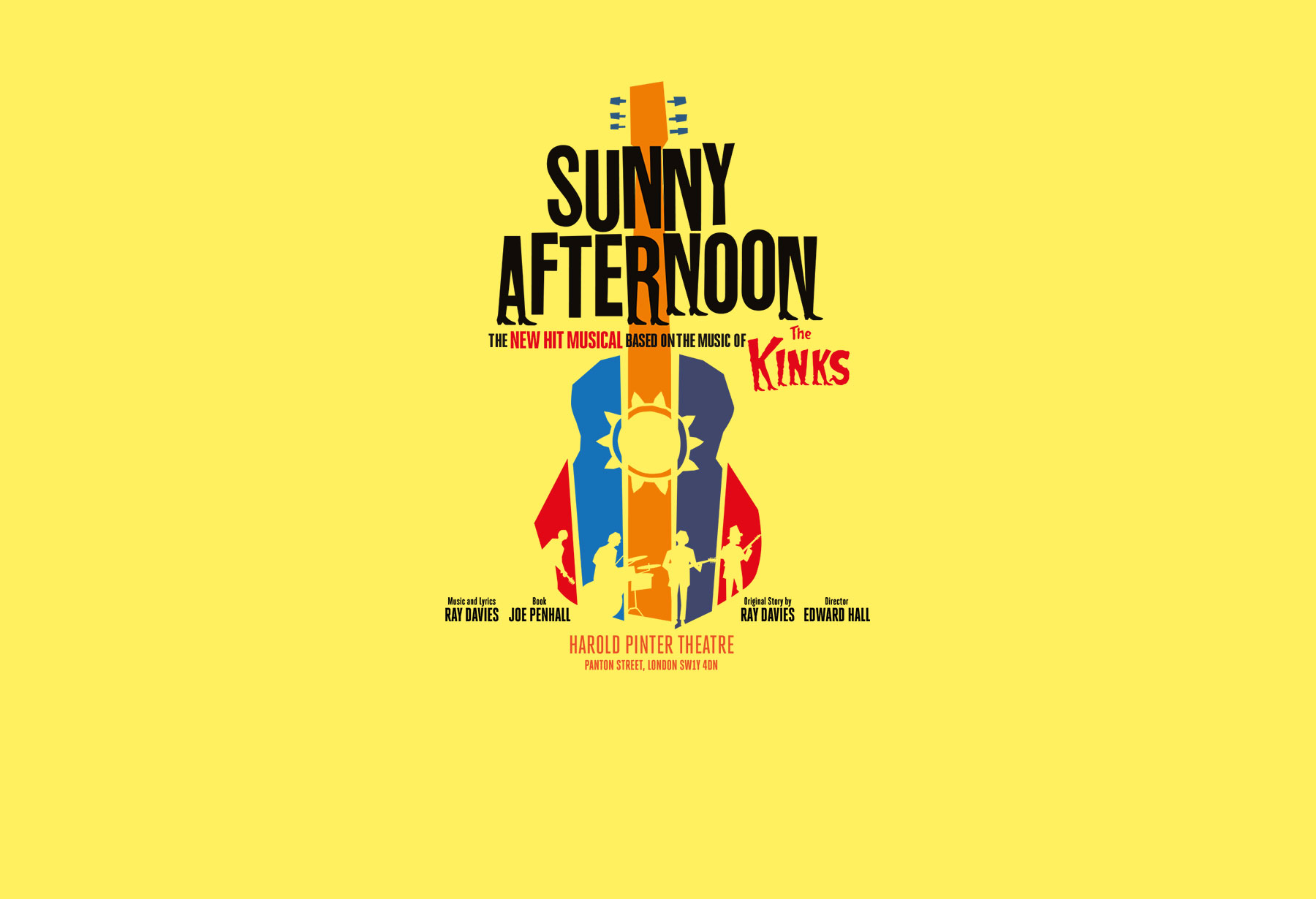 Image Courtesy of: Sunny Afternoon the Musical