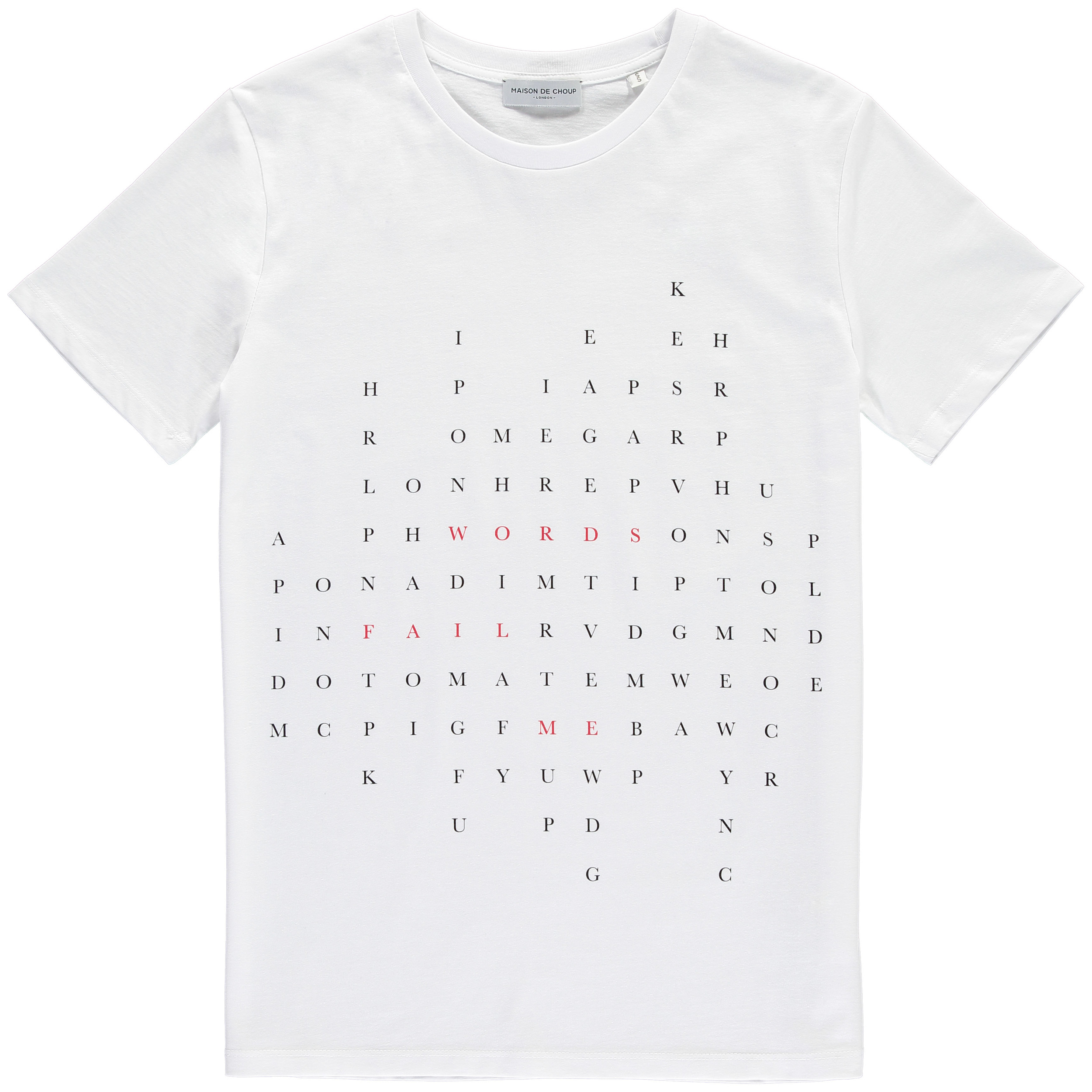 Words Fail Me Tee White Front~PROCESSED.jpg