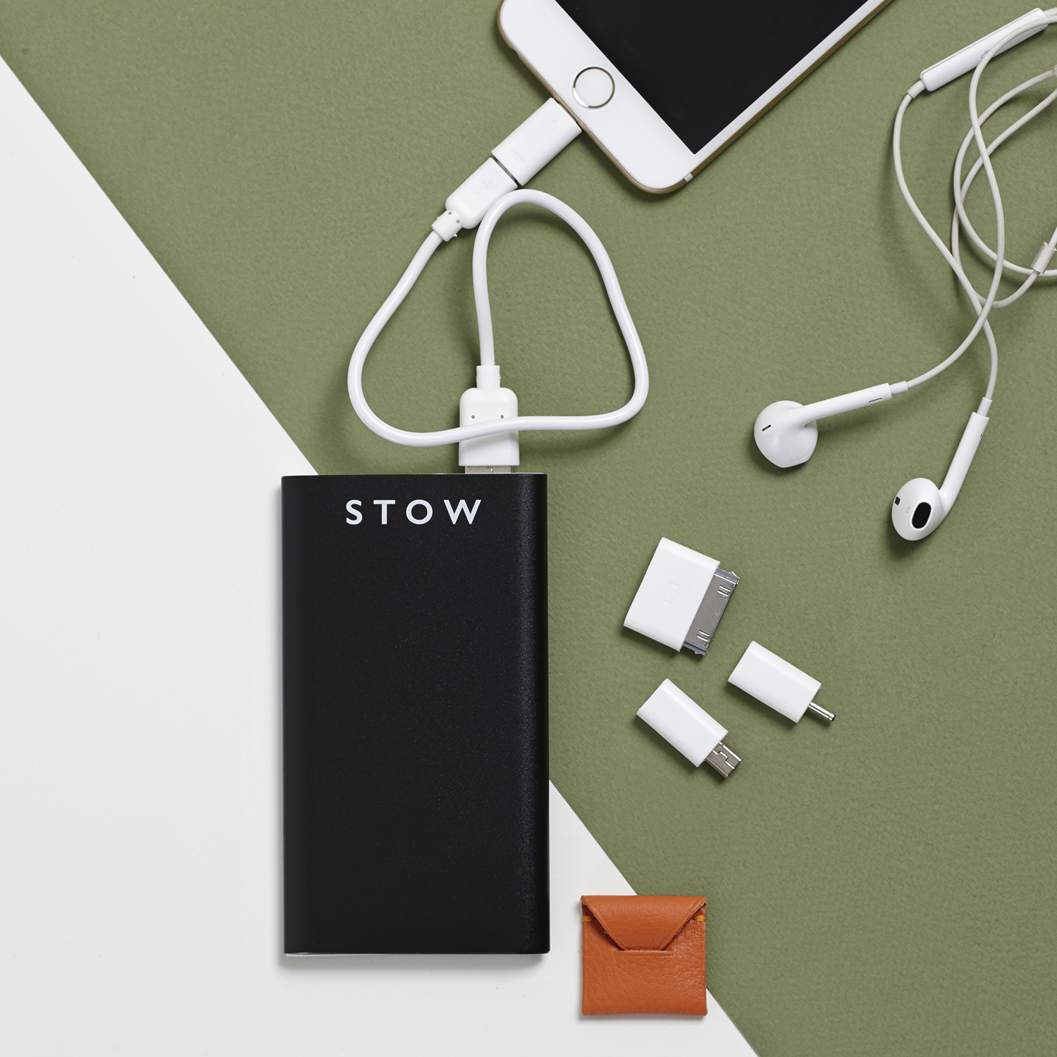 Stow power bank and apple adaptors .jpg