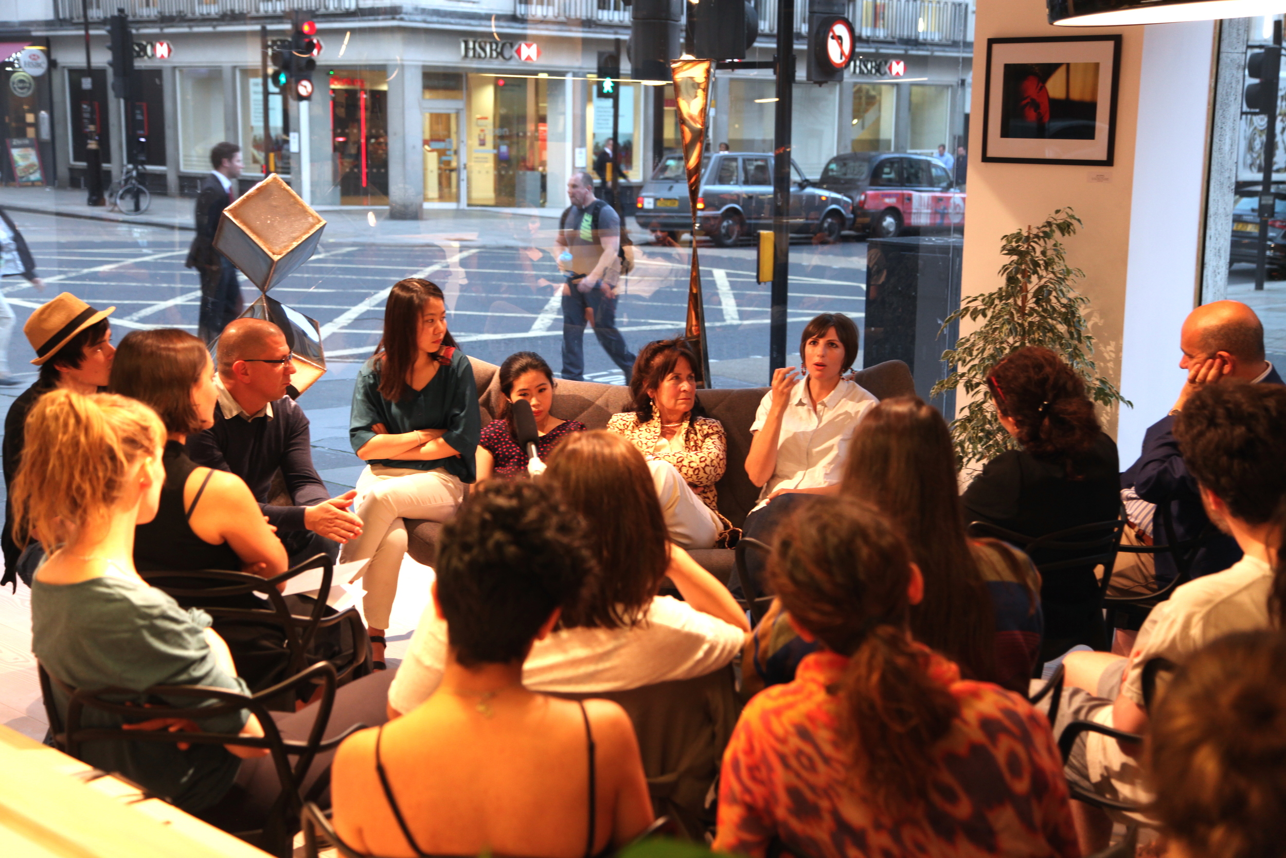 Helena Kennedy in Conversation with Koppel Project Artists.JPG