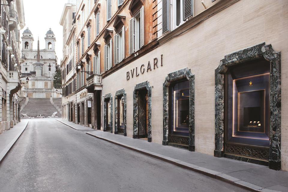 Bvlgari store, Rome – credit Bvlgari