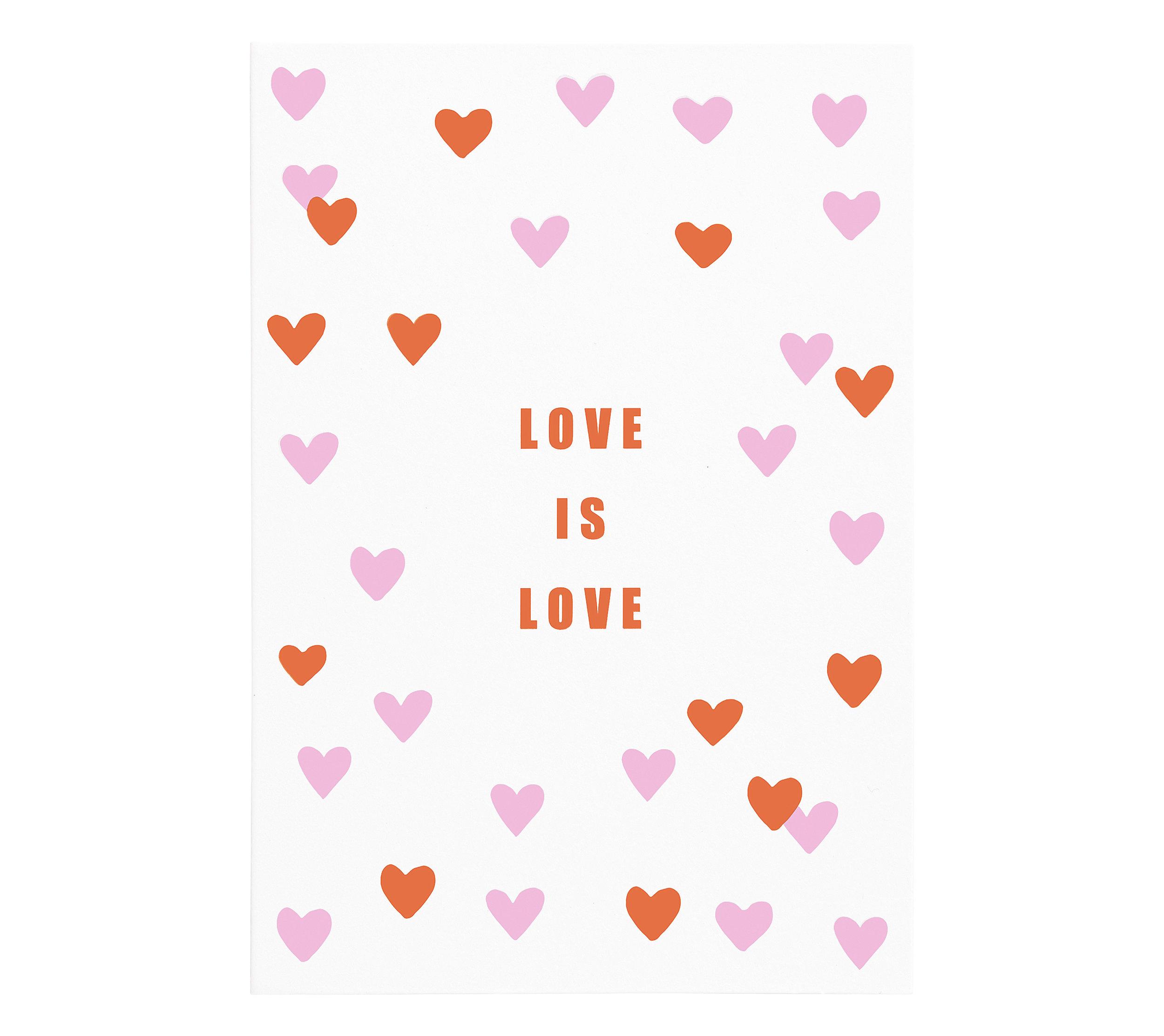 kikki.K - B7 Greeting Card Love Is Love More Love - £2.50 - www.kikki-k.com.jpg