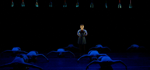 Variation & Variation  . New York University. Choreography by Tere O'Connor. Lighting by Kate Ashton. Costumes by Sarah Cubbage.