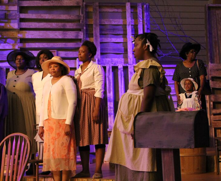choir and pregnant celie terra hodge.jpg