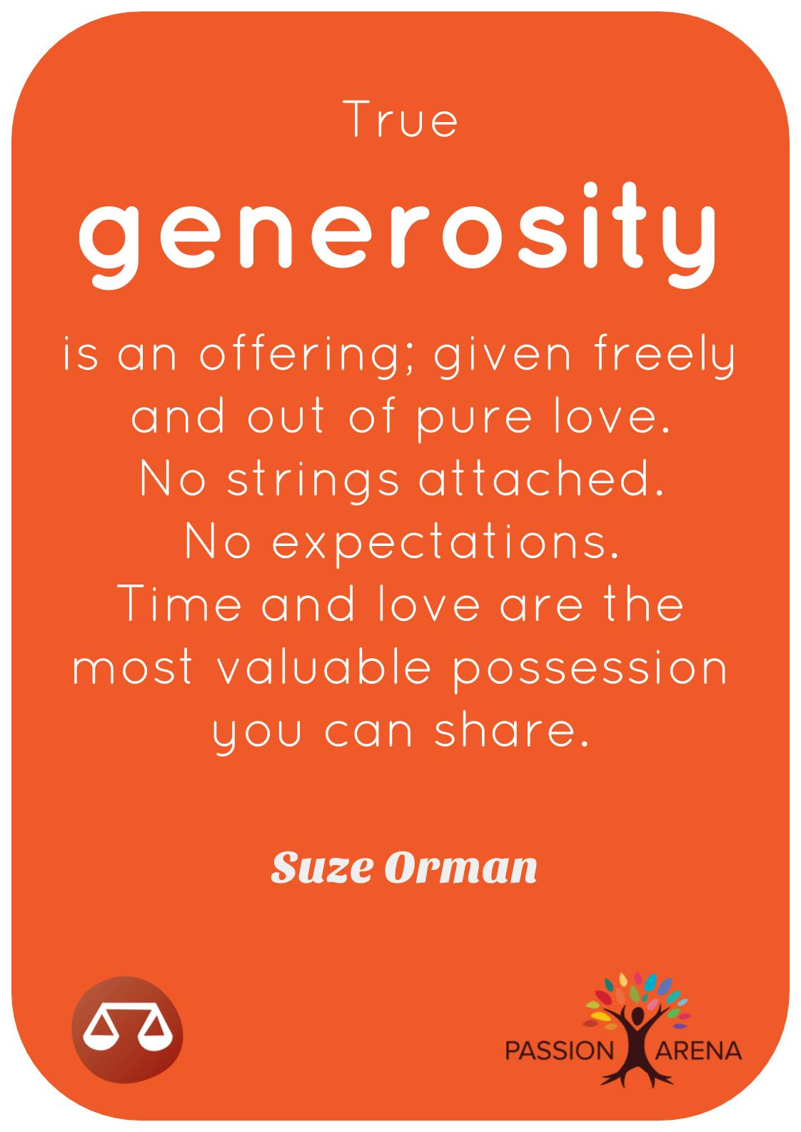 Intro-3-39. What does a generous person look like?