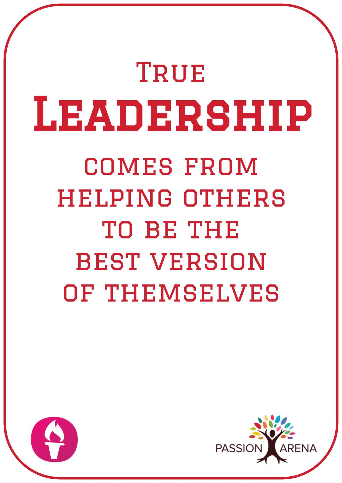 Intro-3-40. What does it mean to be a leader?
