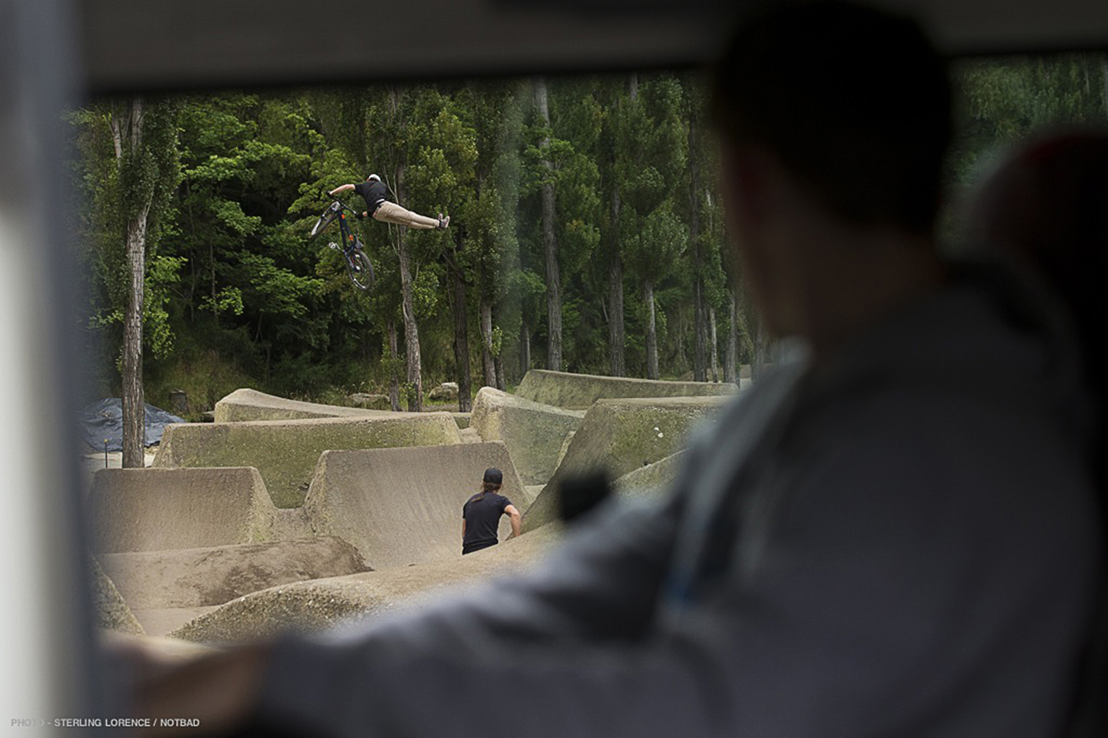 Gorge Road Dirt Jumps near Queenstown, New Zealand.
