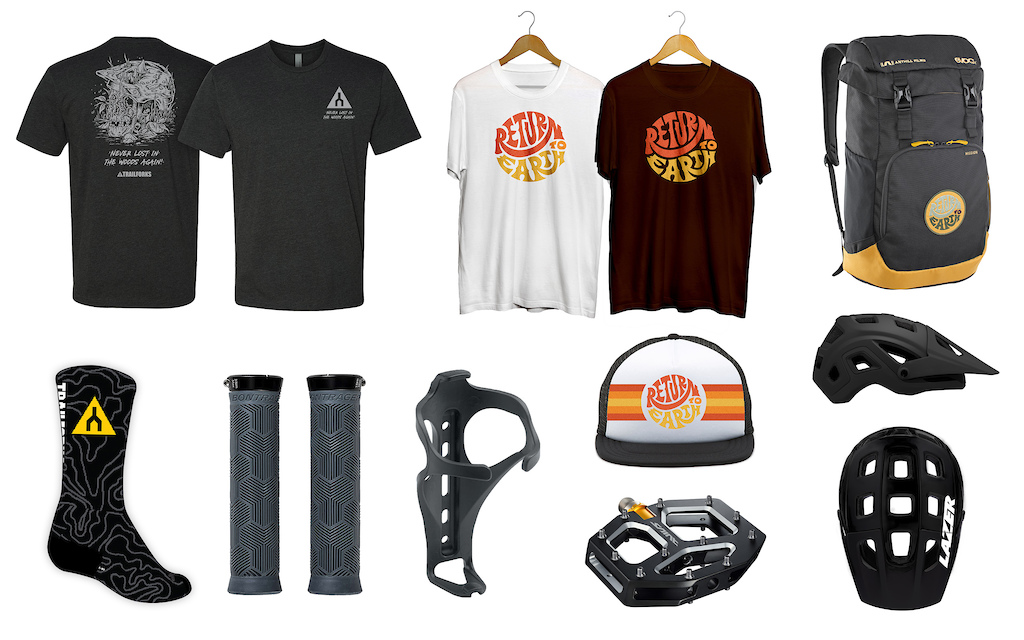 Daily prize packs courtesy of Trailforks, Anthill Films, EVOC, Bontrager, Shimano and LAZER.
