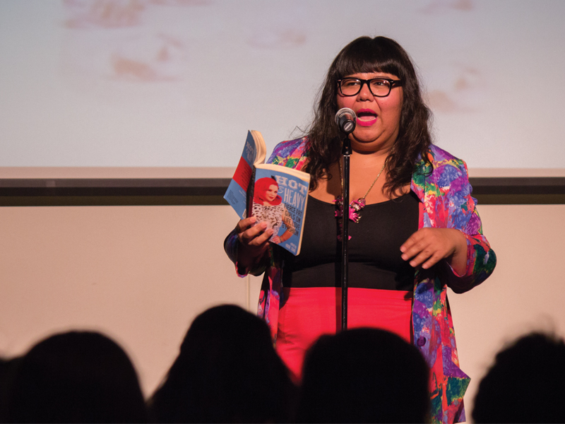 Virgie Tovar - Author, activist and one of the nation's leading experts and lecturers on fat discrimination and body image.