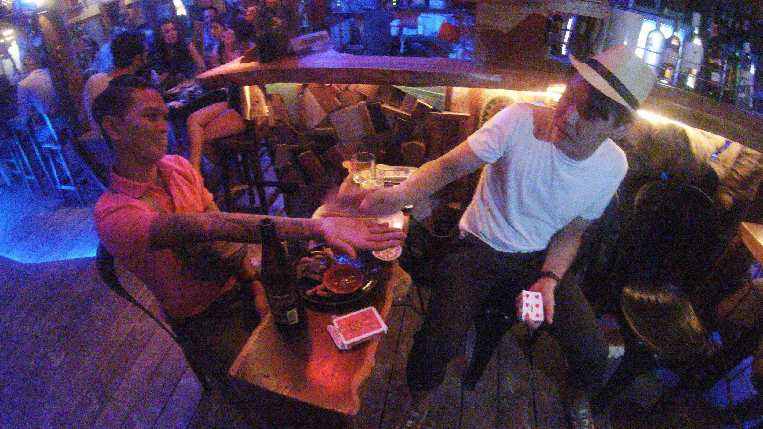 Bar Magician Alexander Yuen Singapore