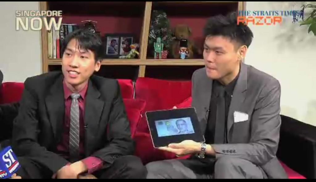 Alexander Yuen Jonathan Low iPad Magic Razor TV