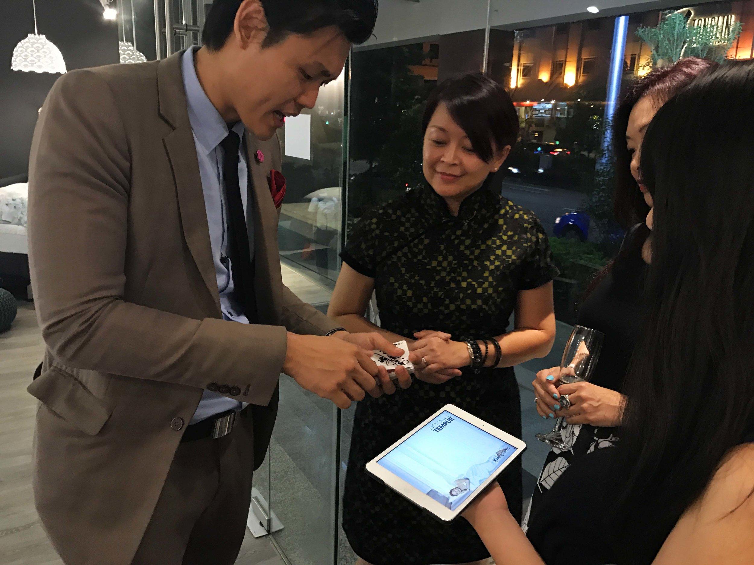 iPad Magician Singapore Tatler