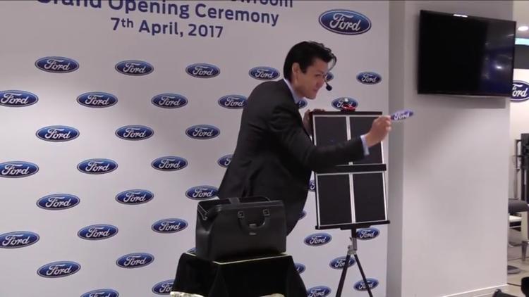 Ford Hong Kong iPad Magic