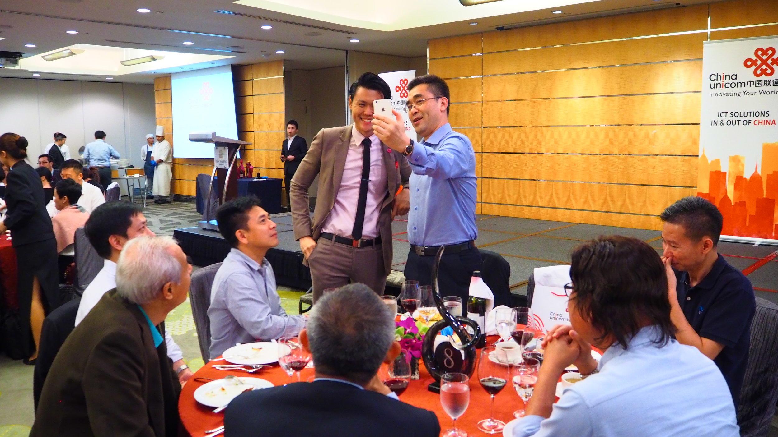 China magician singapore