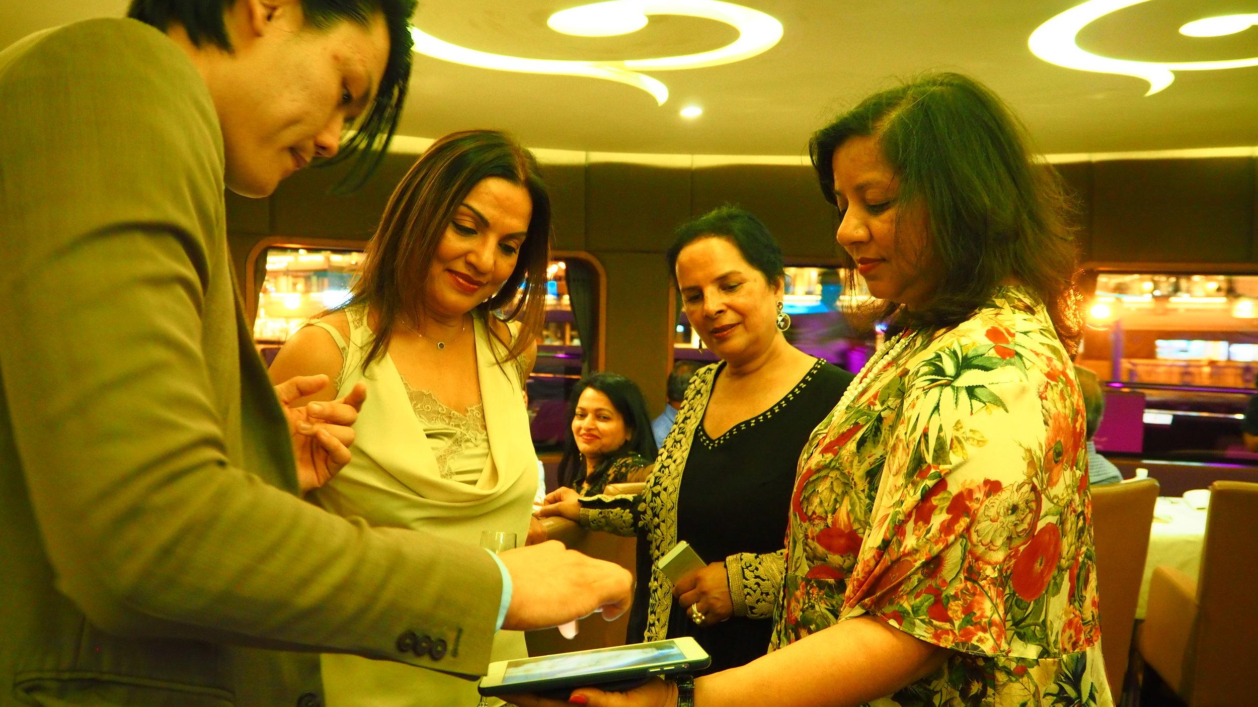 India iPad Magician