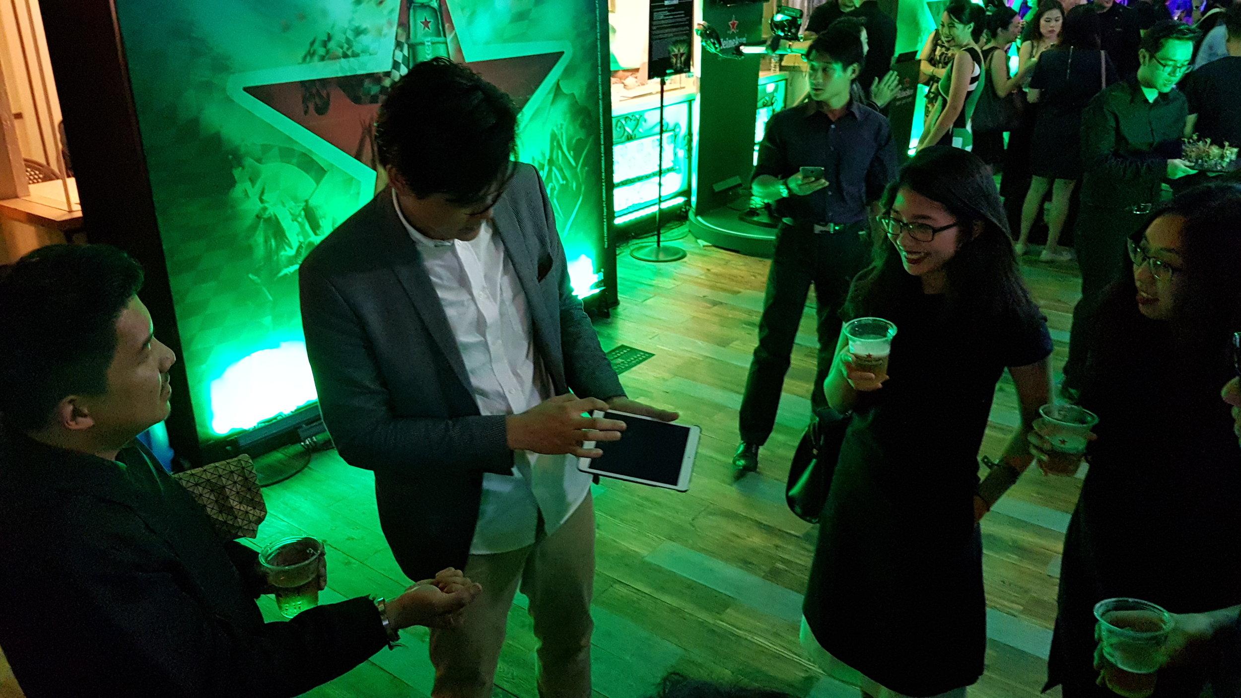 iPad Magician Hong Kong