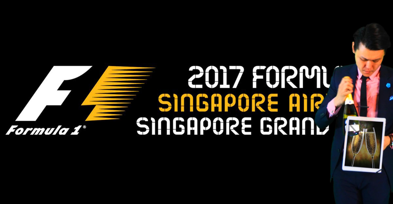 F1 Singapore iPad Magician