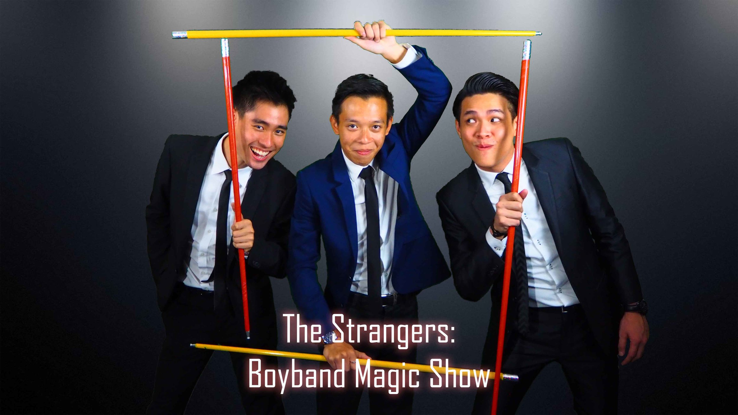 Boyband Magic Show The STrangers
