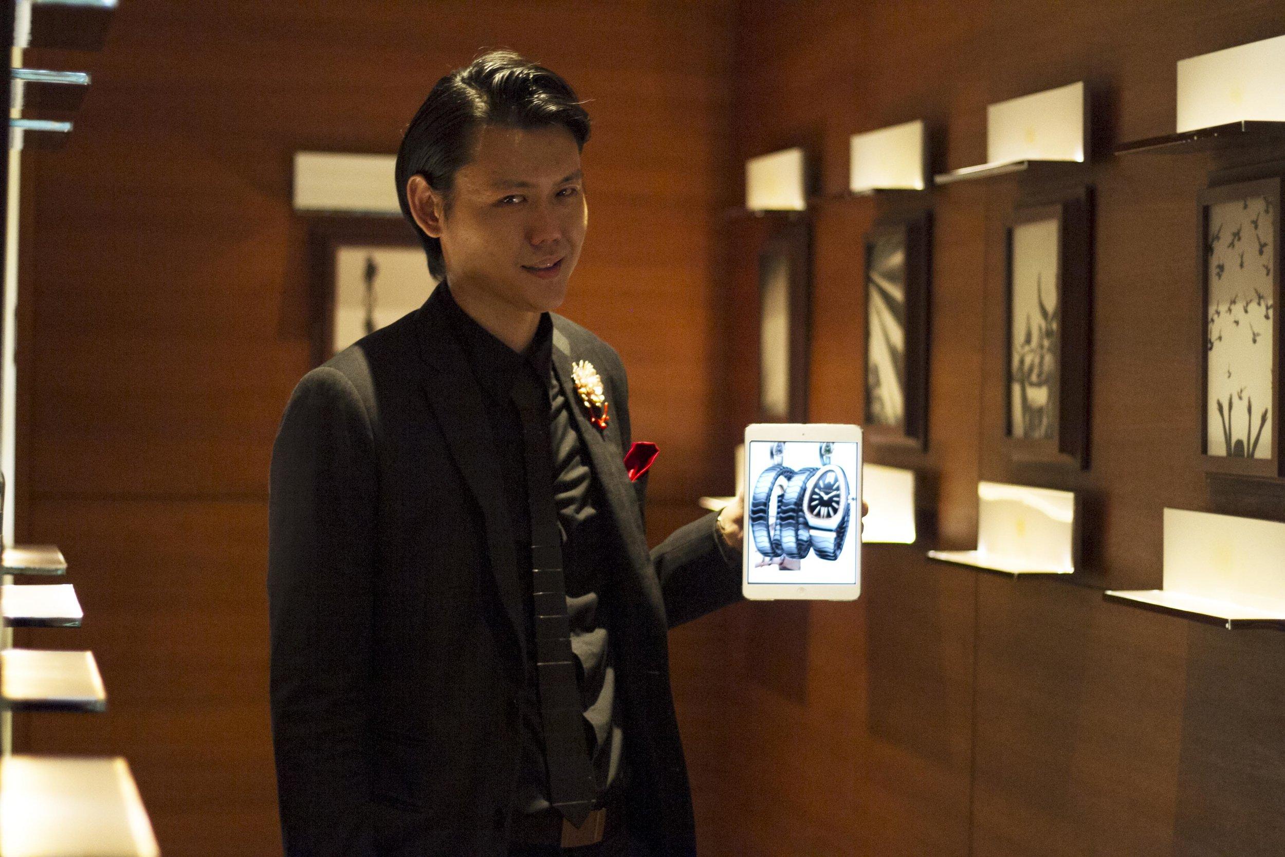 Bvlgari alexander yuen magician corporate