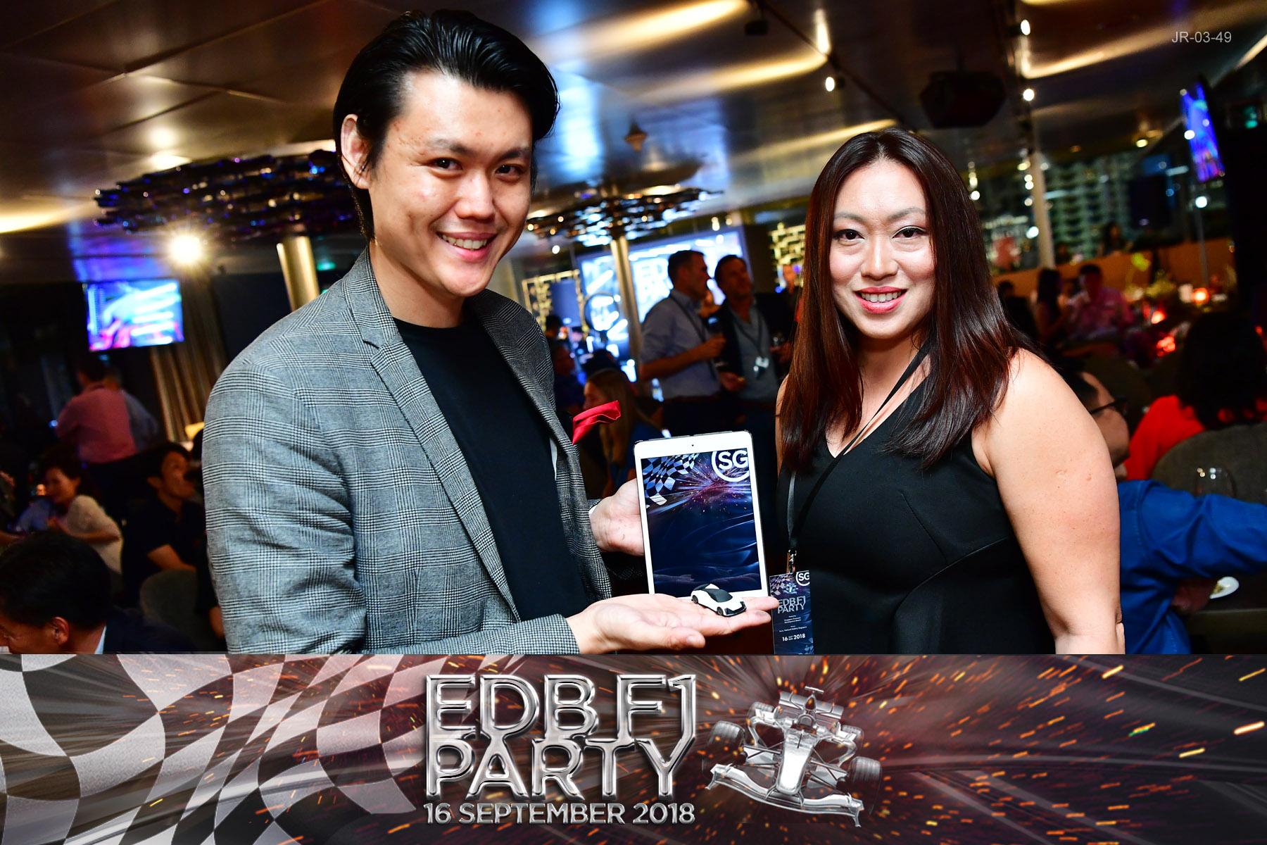 F1 Singapore Electric Car iPad Magic