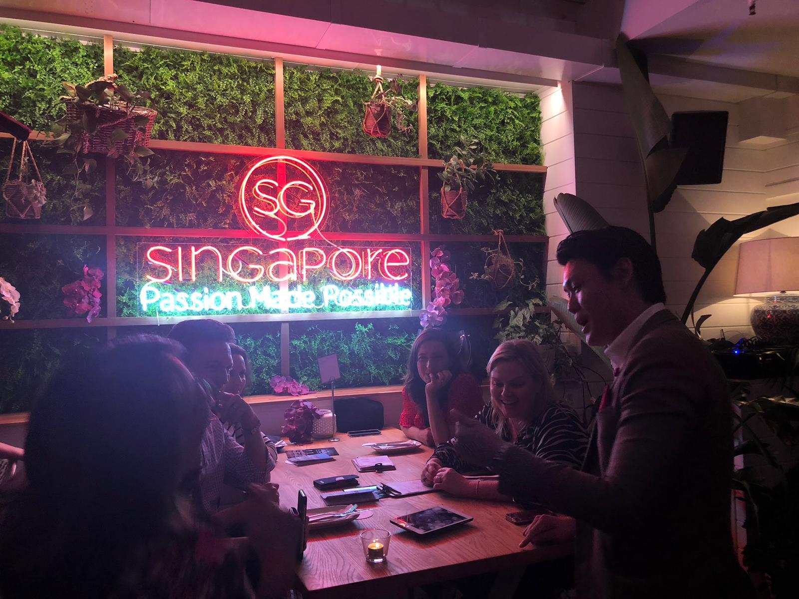 STB Singapore Alexander Yuen iPad Magic