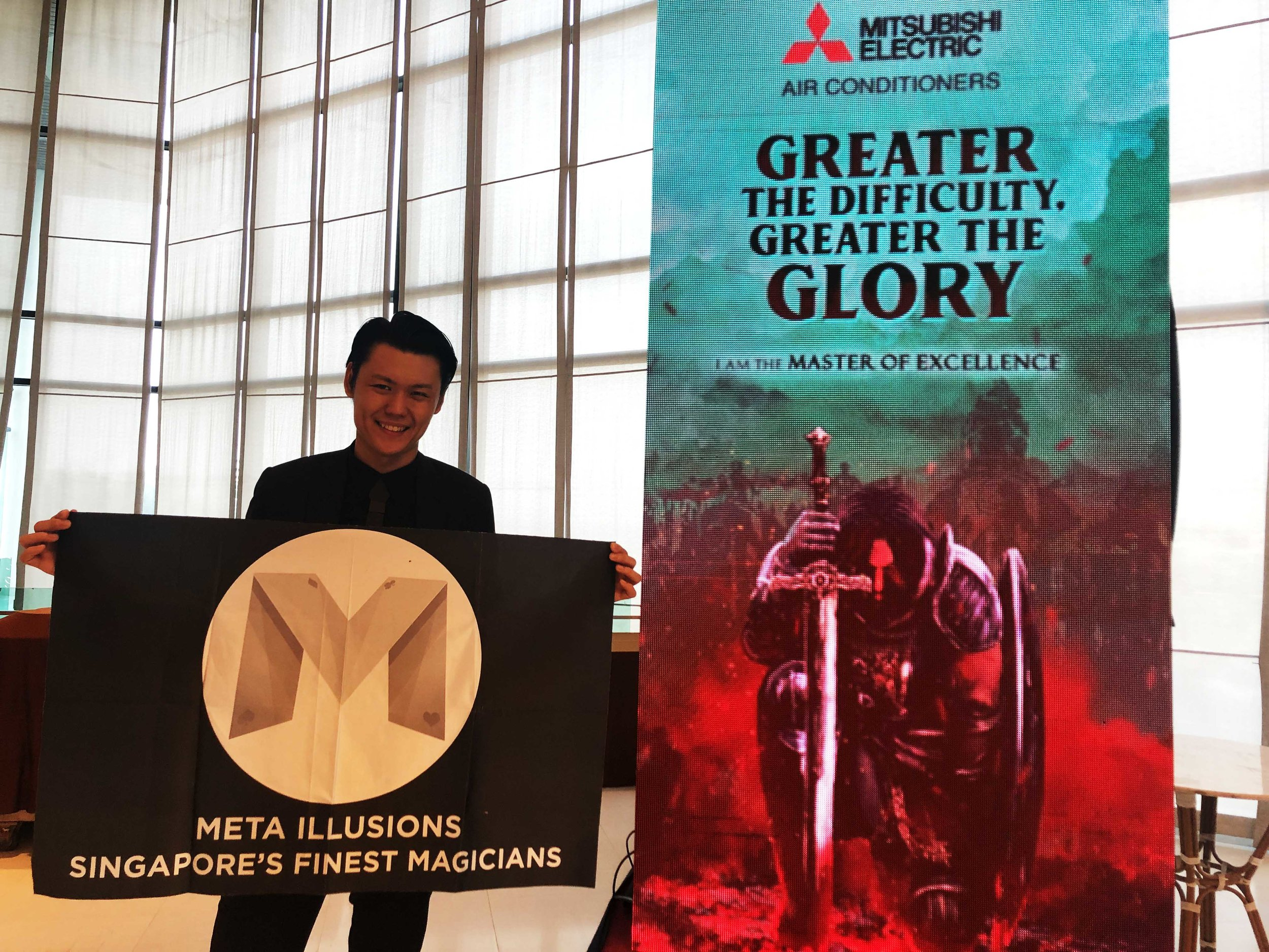 Alexander Yuen Bangkok iPad Magician