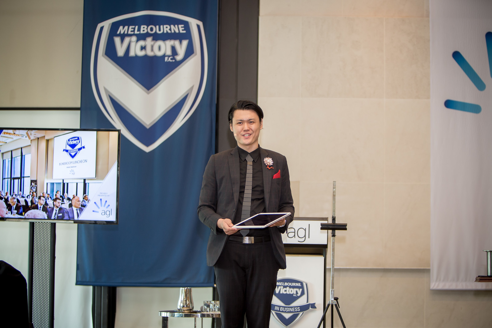 Melbourne Victory iPad Magic