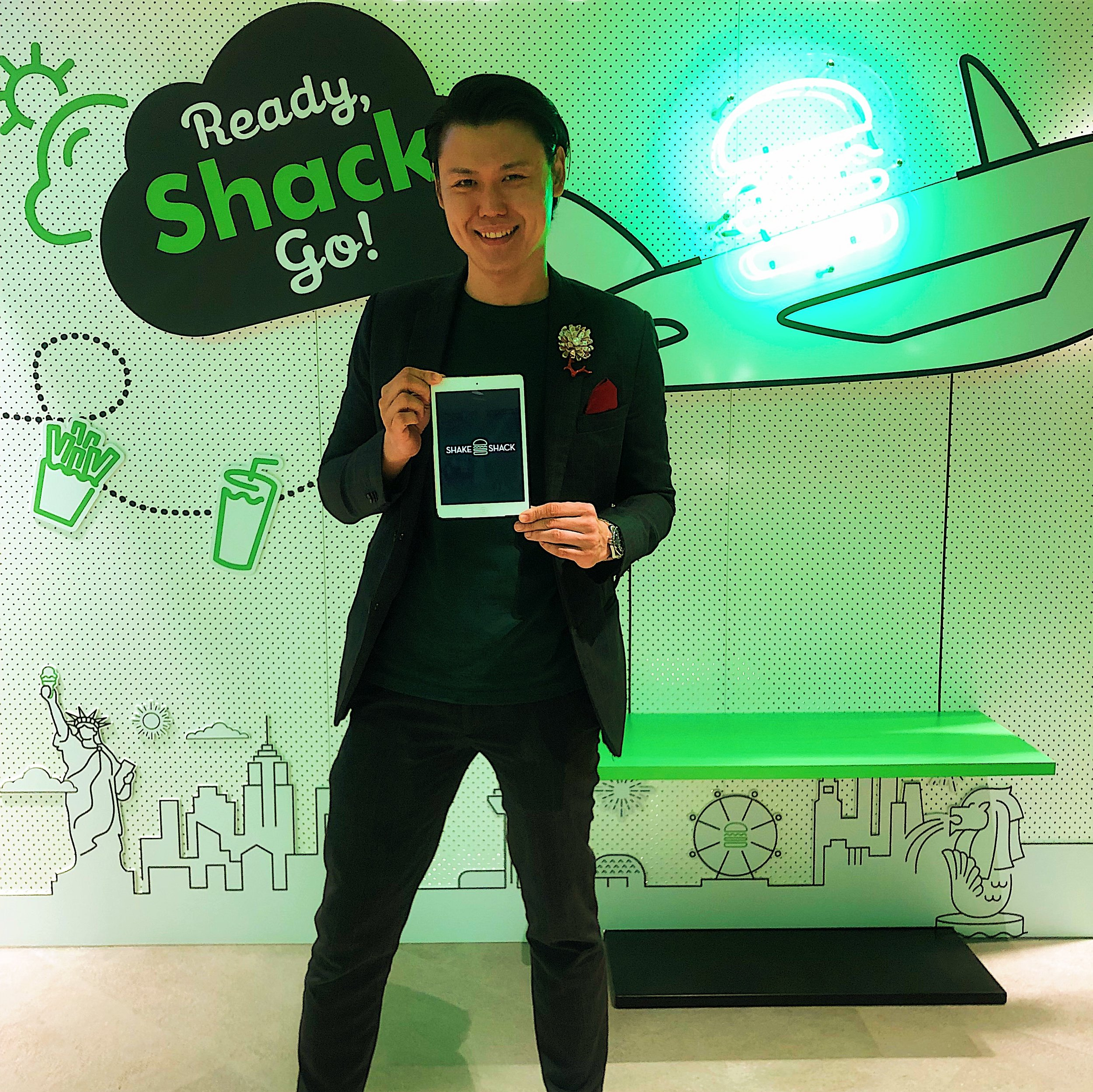 Alexander Yuen iPad Magic Shake Shack Launch