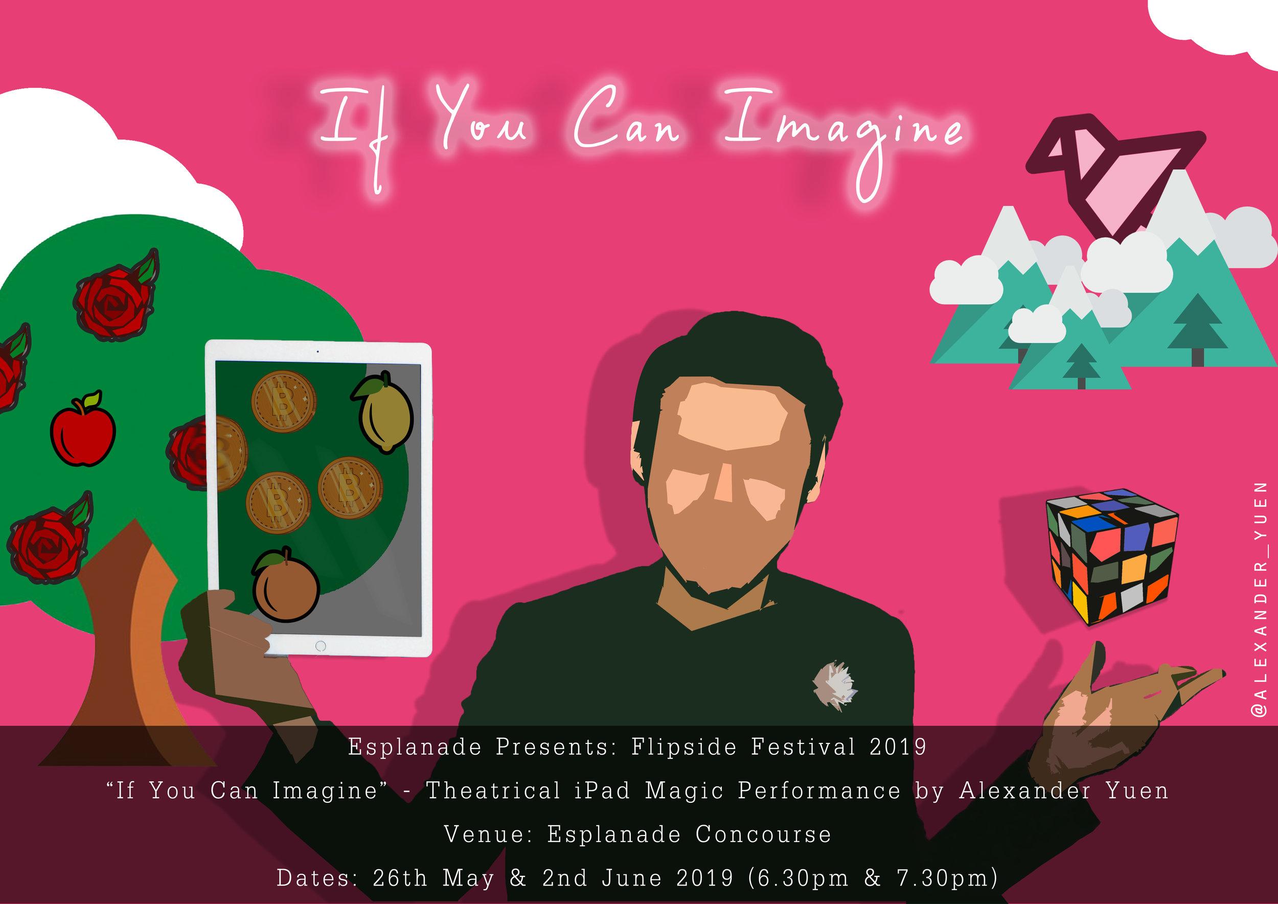 If You Can Imagine by Alexander Yuen iPad Magic