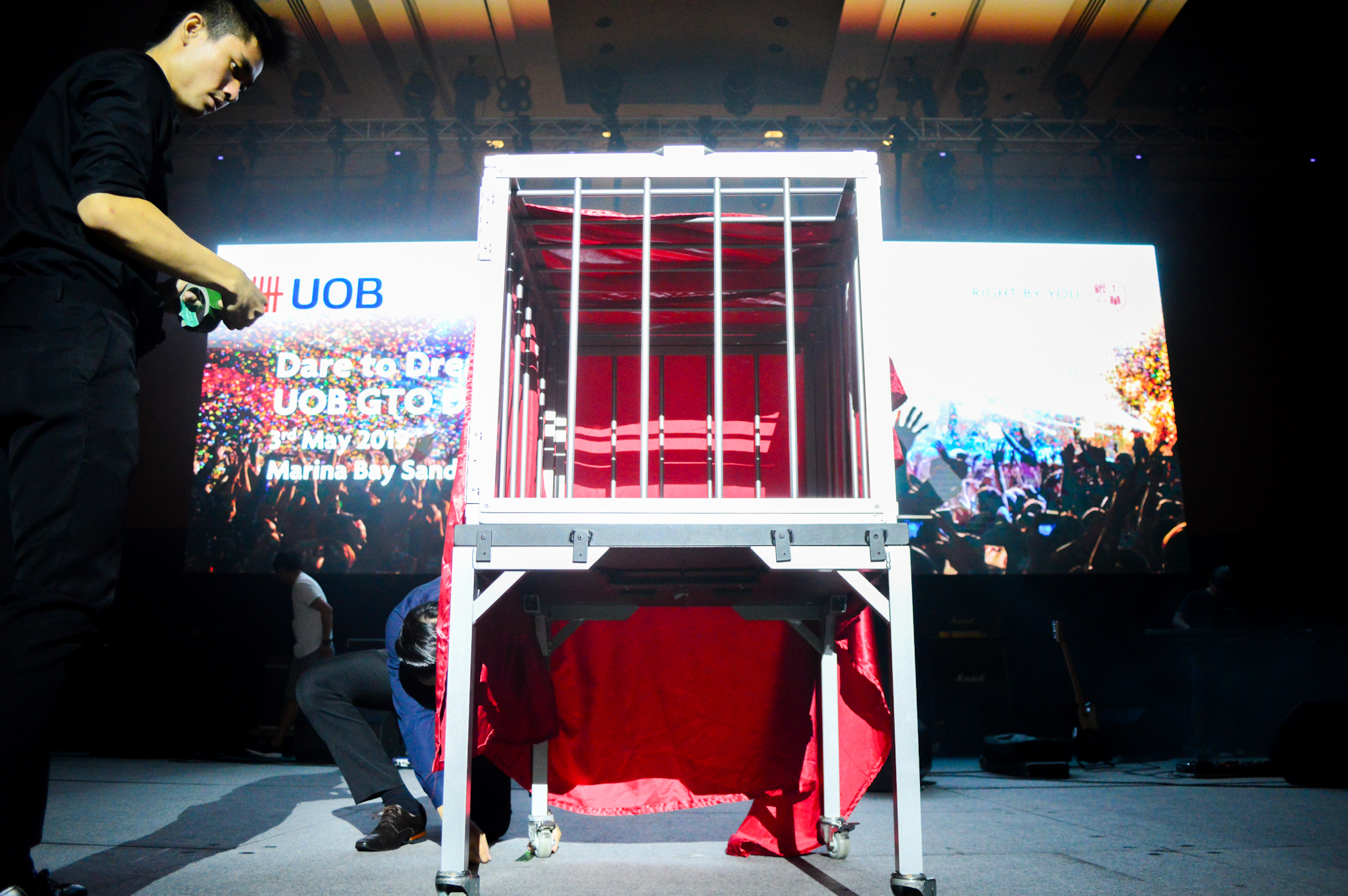 Magic Illusion Show Corporate UOB