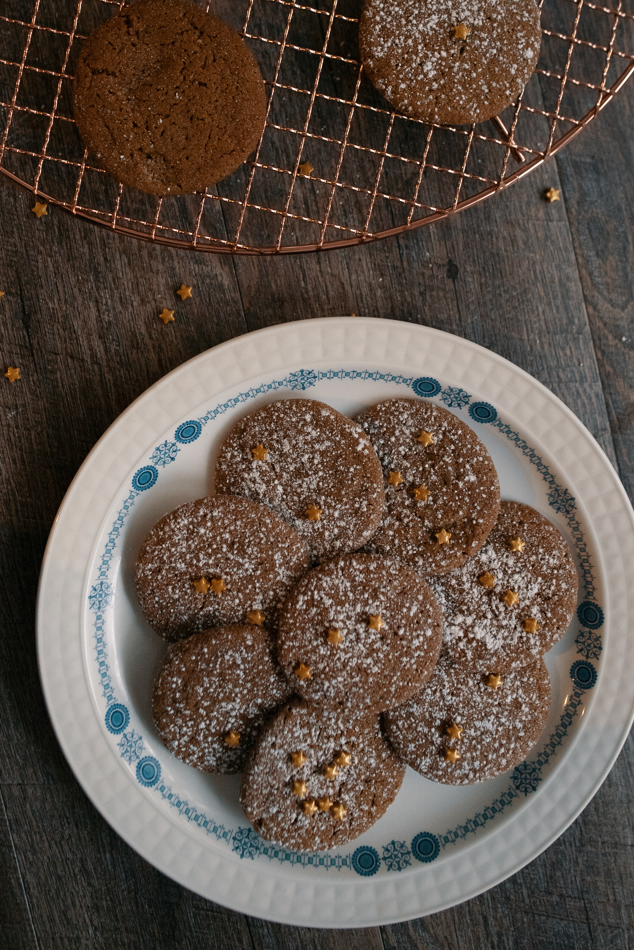 Ginger Snap Cookies -