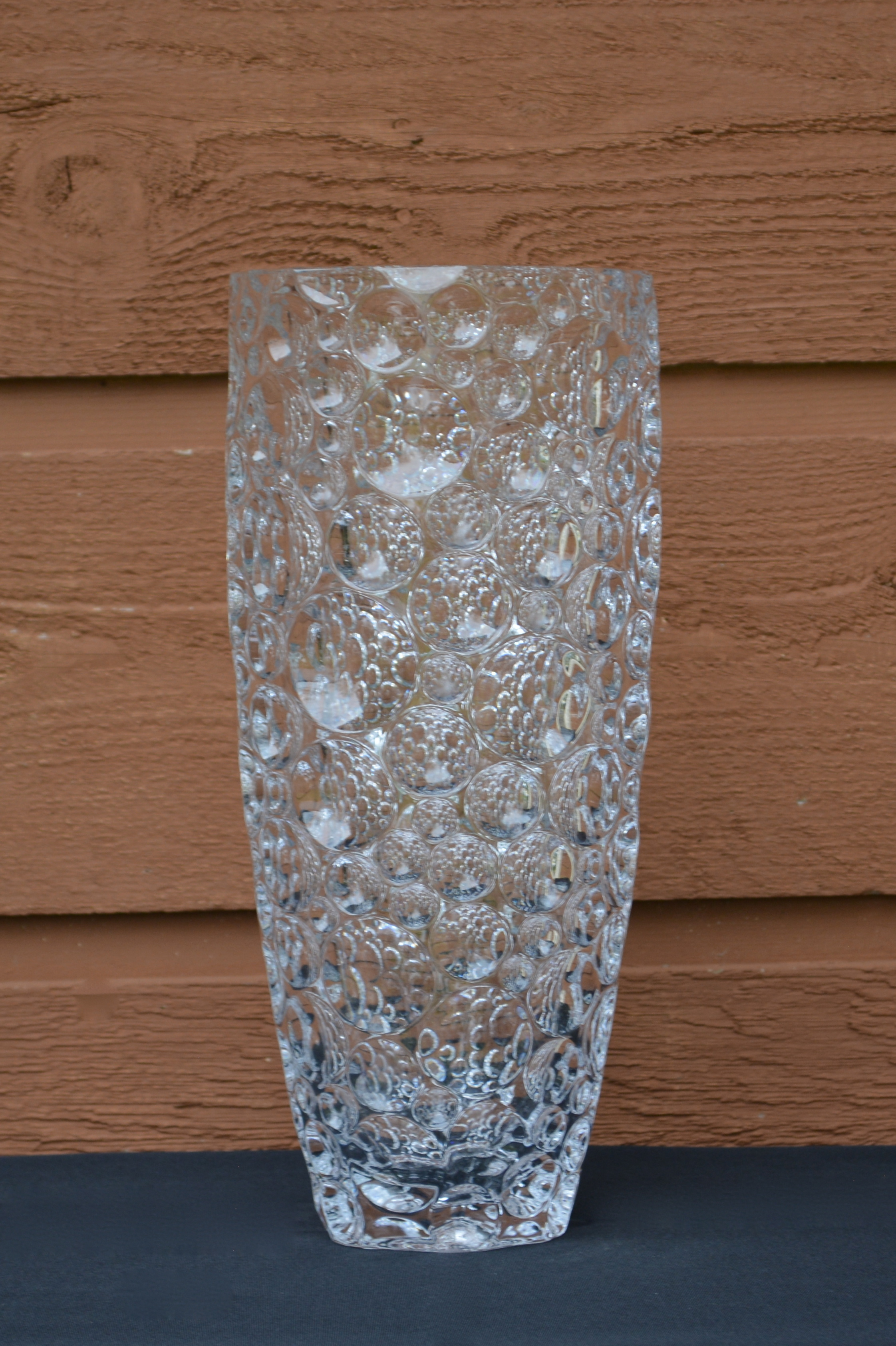 Crystal Bubble Vase