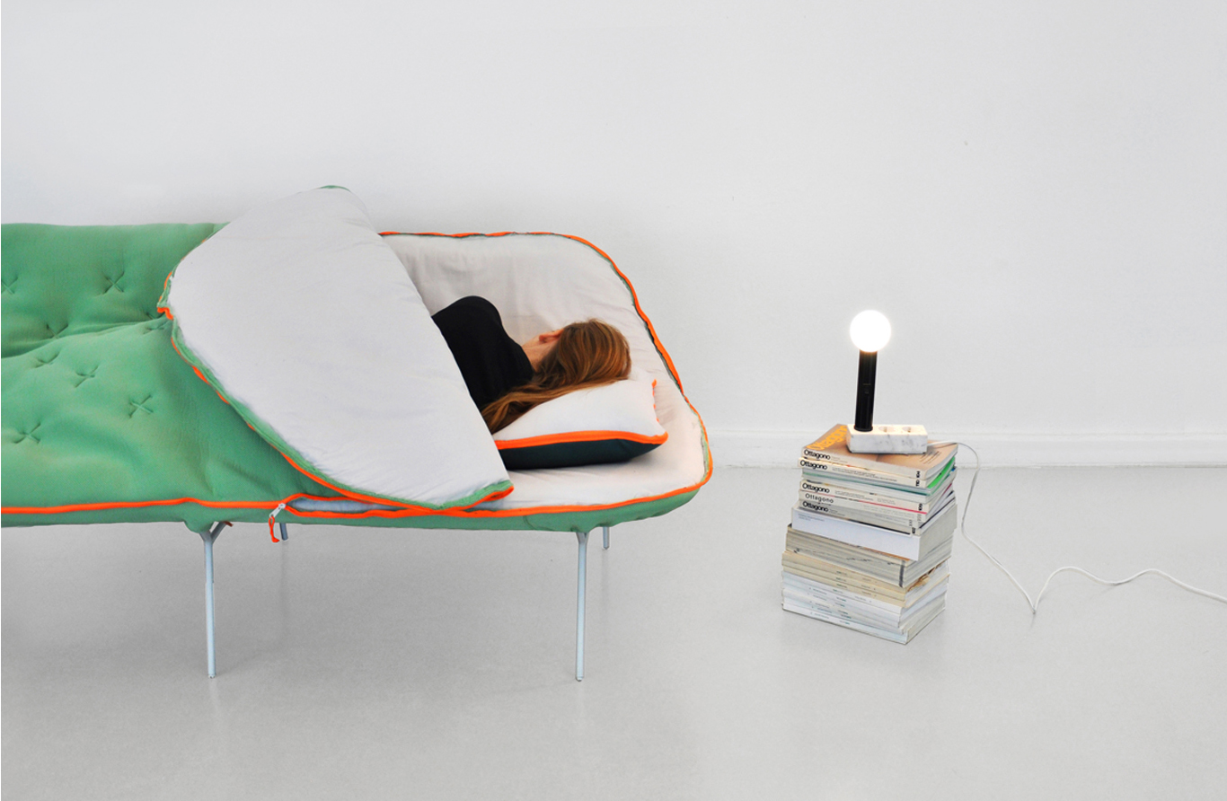 Camp Daybed  (2012)  Graduation Project, UdK Berlin