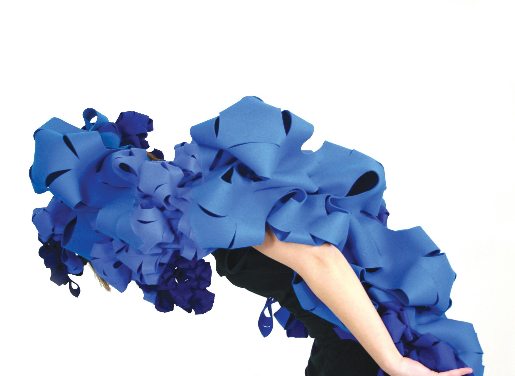 Soundskin (2011)  Textile experiment, UDK