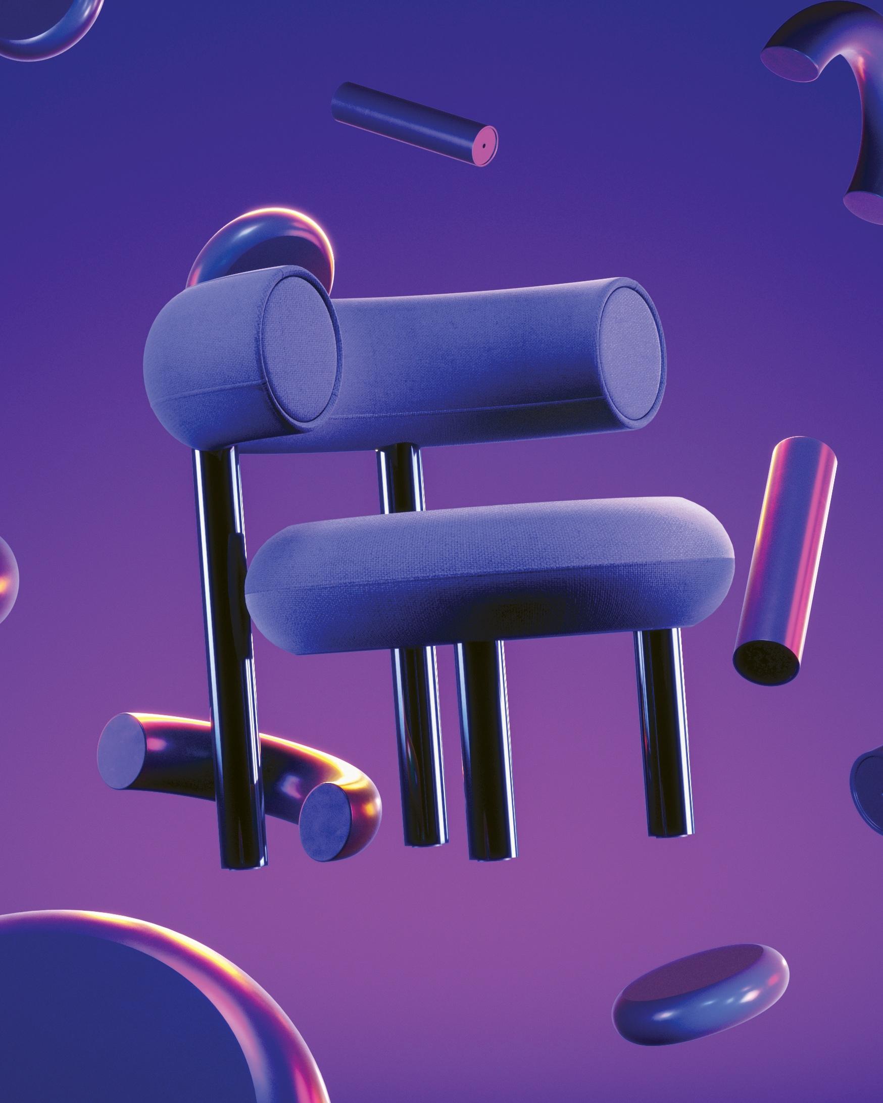 FAT Chair    Tom Dixon , 2019  Visual by  Jonathan Formento