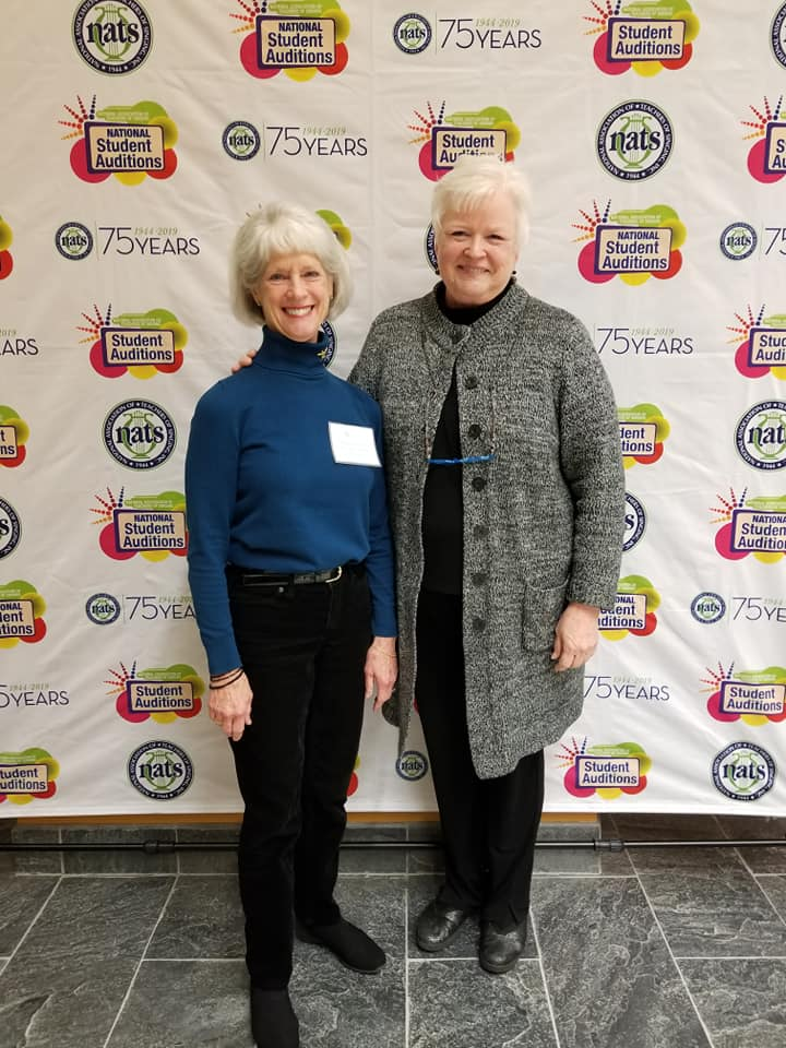 We were delighted to have Karen Brunssen, NATS President with us for our regional conference this year! And many thanks to Barbara Ann Peters for her endless dedication to our region!