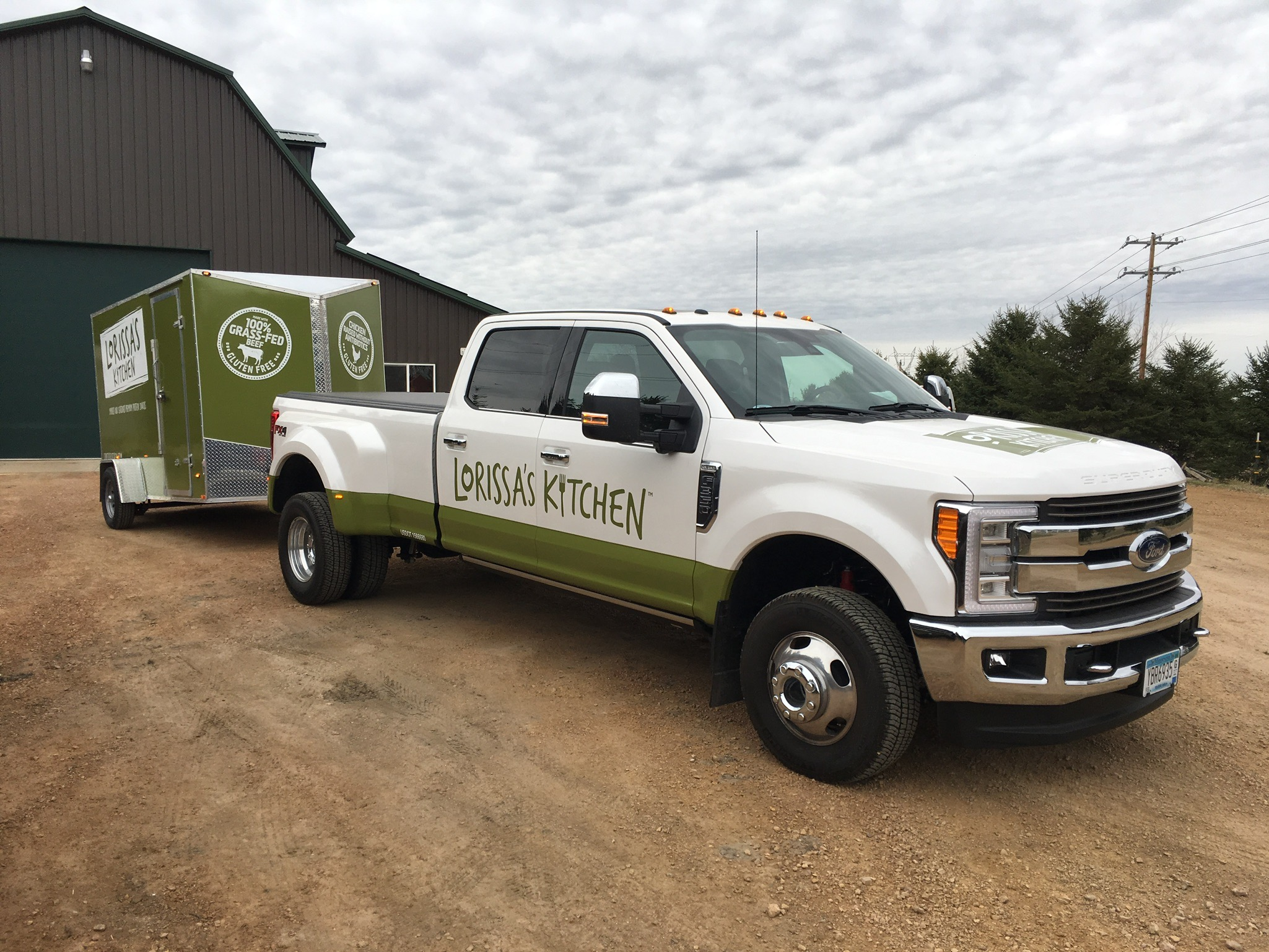 Truck and Trailer Wrap