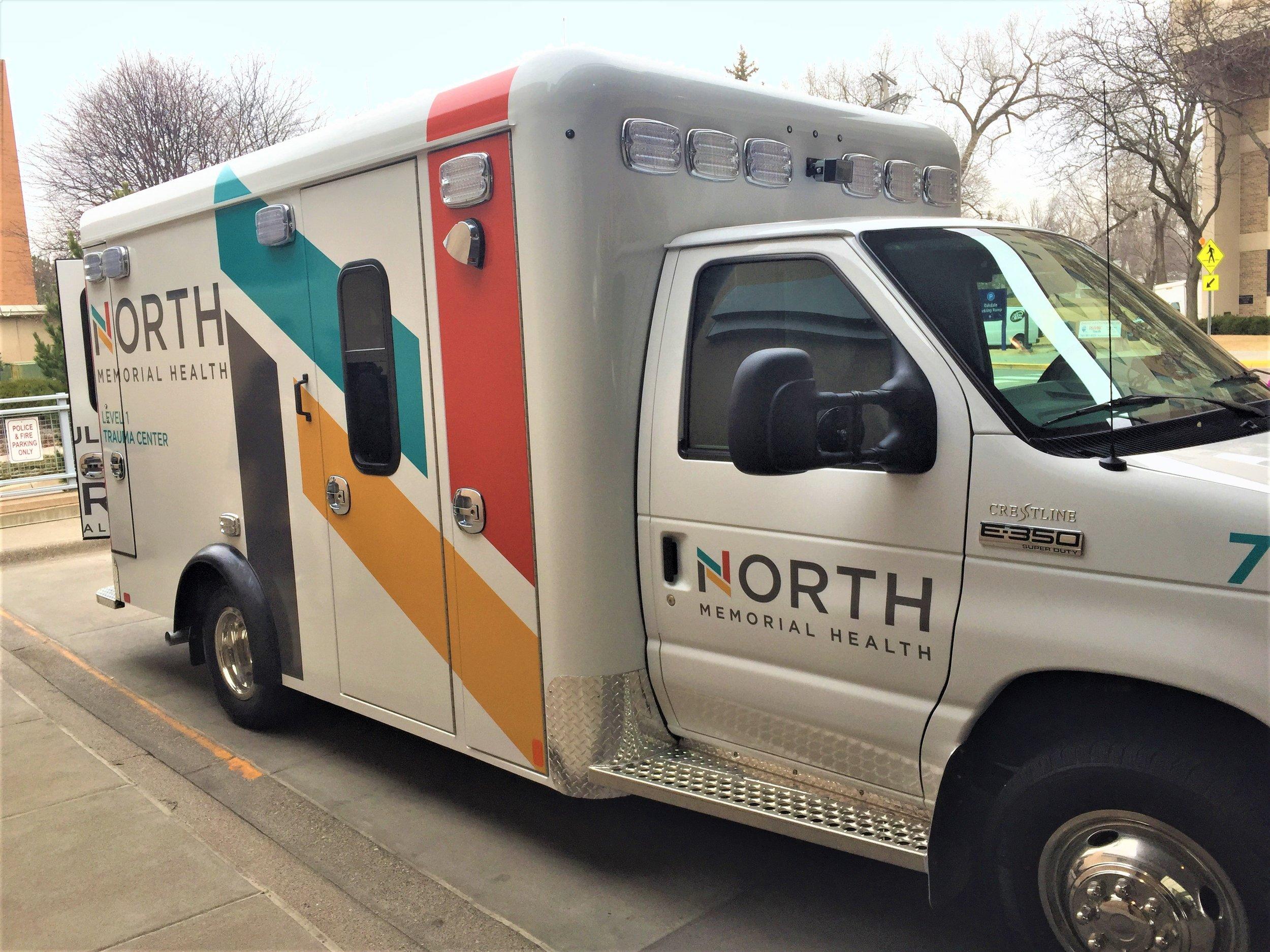 Ambulance Wrap North Memorial
