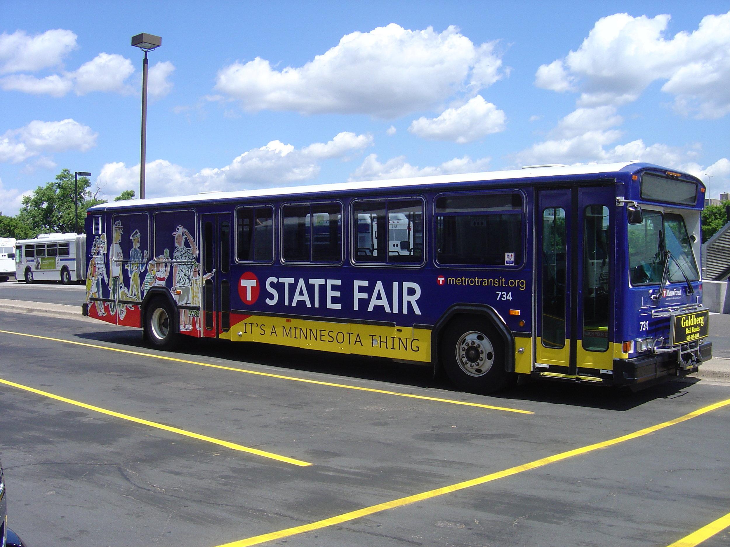 Bus Wrap State Fair