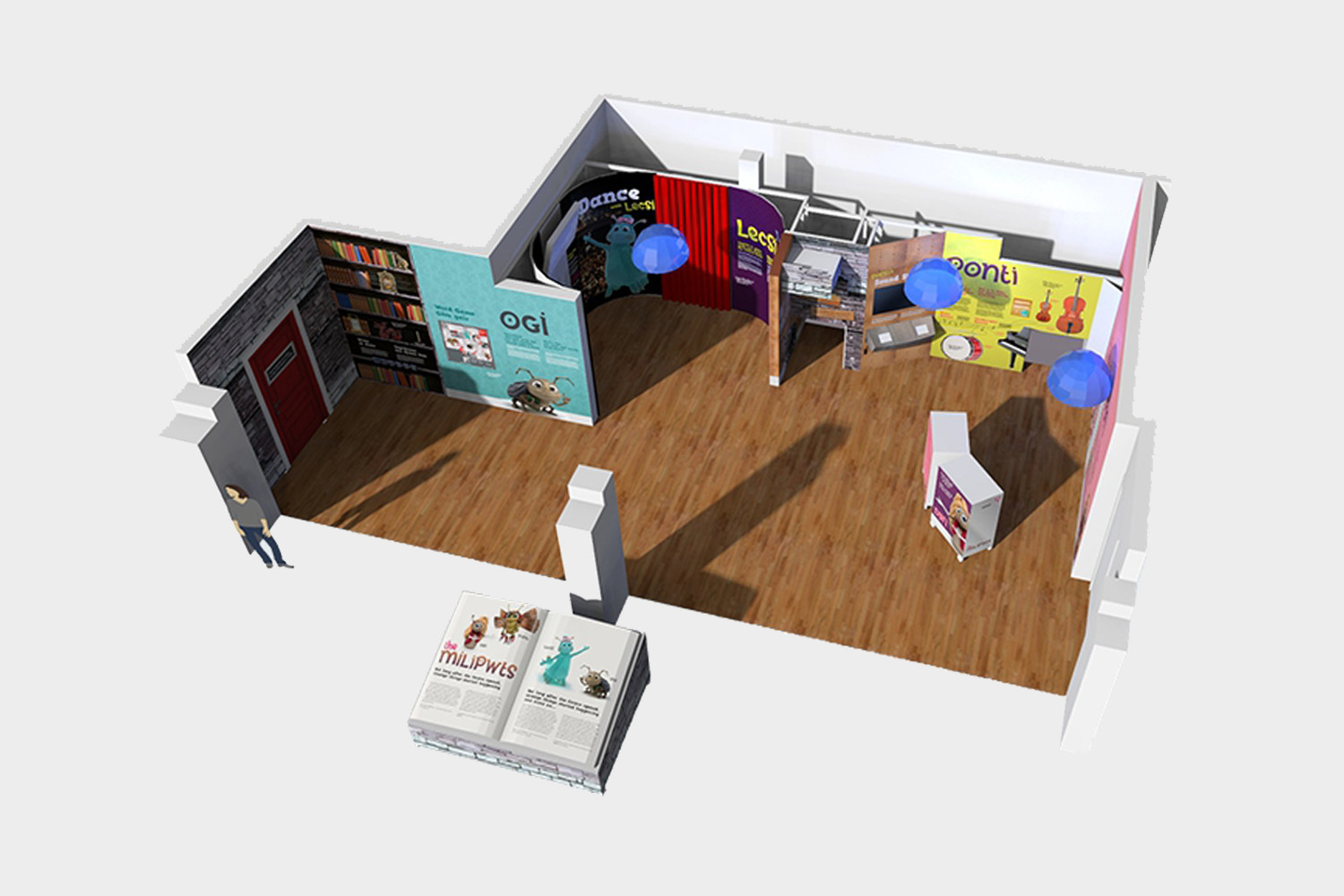 3D Plan – Click to enlarge...