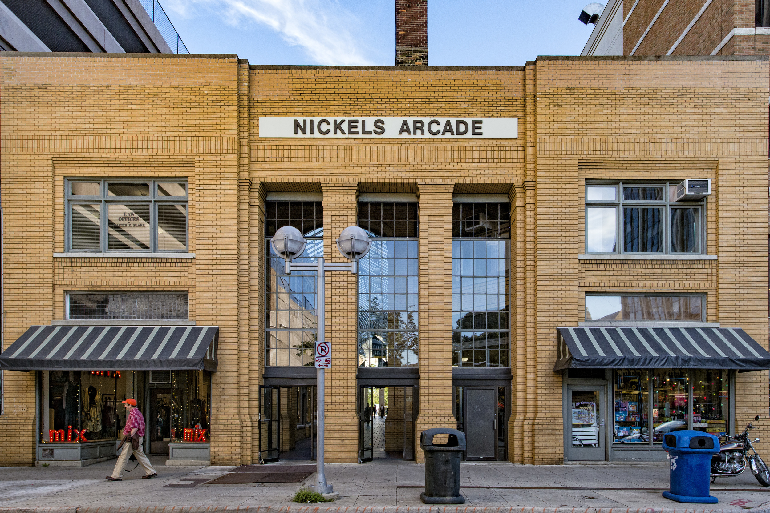 Ann Arbor State Street District Nickels Arcade