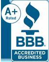 Better Business Bureau A+Accredited Business